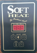 Soft Heat Electronic Digital Control Replacement Complete